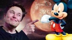 Elon Musk Disney