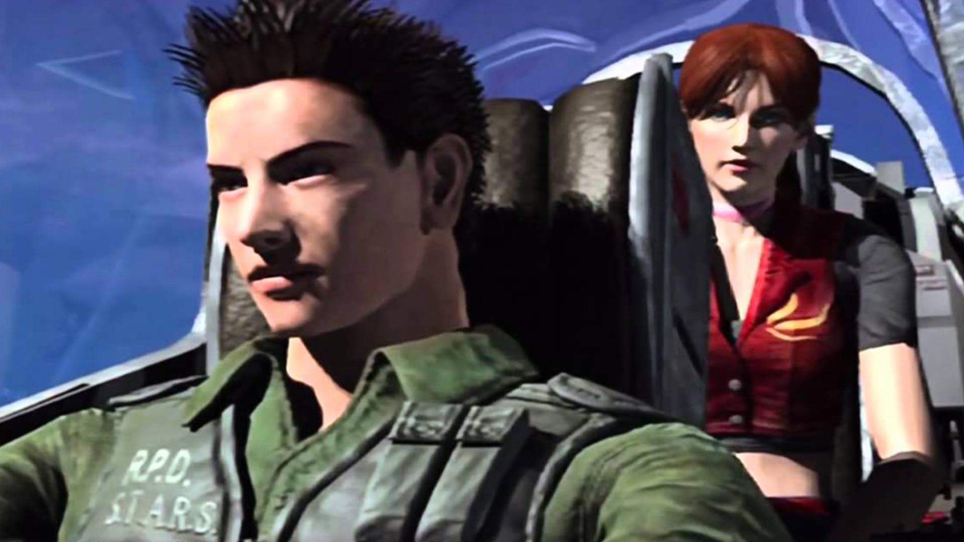 Chris Redfield in Code Veronica X