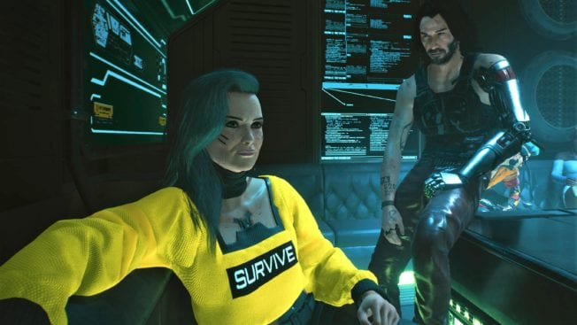 Johnny und Rogue in Cyberpunk 2077