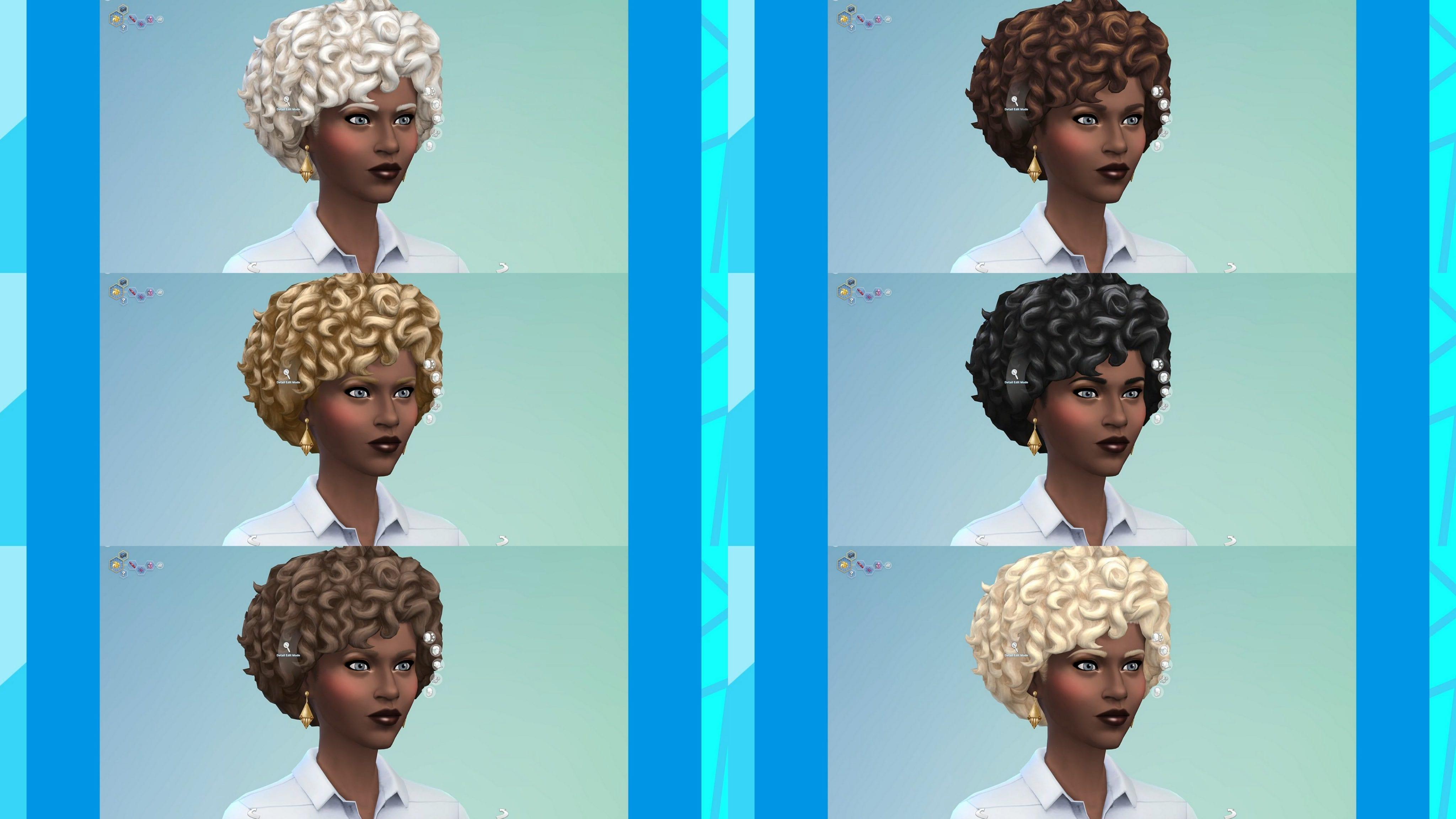 Sims 4 neue Haarfarben Update