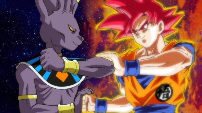 Dragon Ball Super Anime Kämpfe