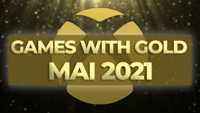 Xbox Games With Gold kostenlose Spiele Mai 2021