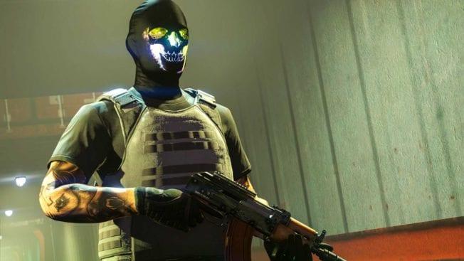 GTA Online - Dunkle Strahlenschutzmaske