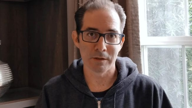 Jeff Kaplan from the Overwatch team