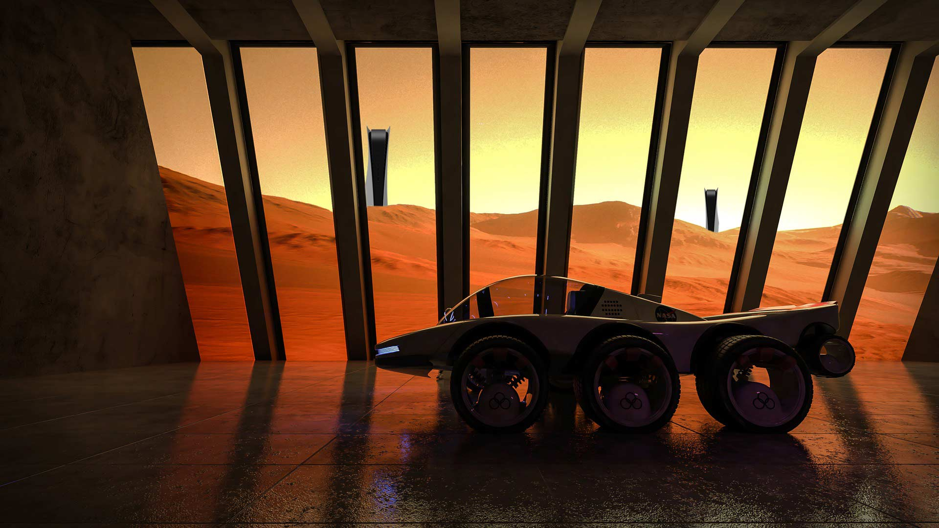 Marsfahrzeug