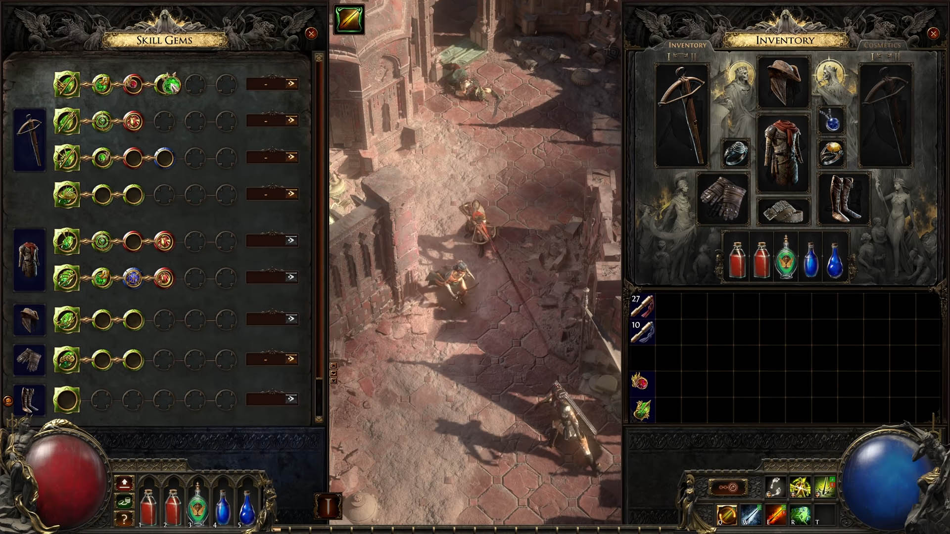 Path of Exile 2 - Neues Gemme-System