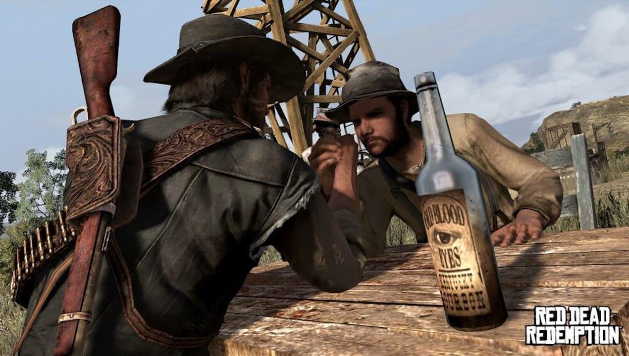 Red Dead Redemption 2 Armdrücken Aktivitäten