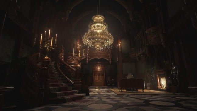 Resident Evil 8 Village Castle Dimitrescu