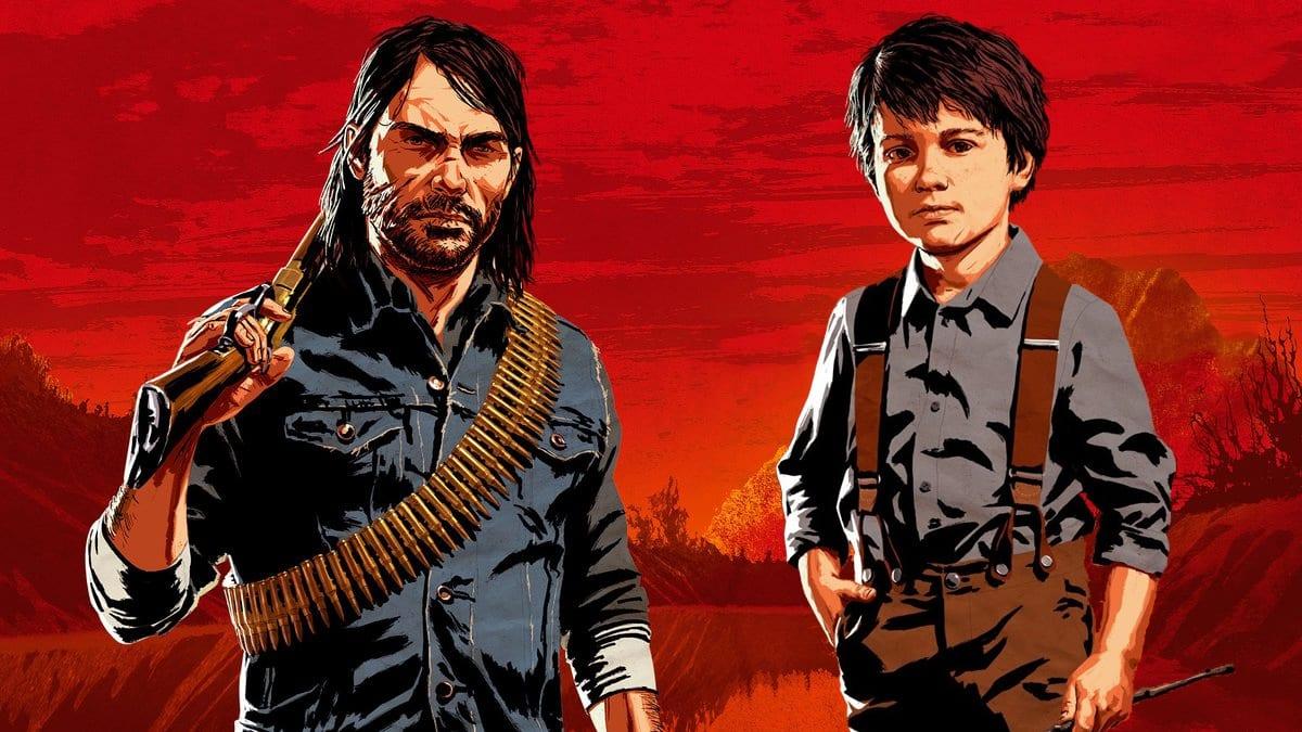 Red Dead Redemption 2 John und Jack Marston