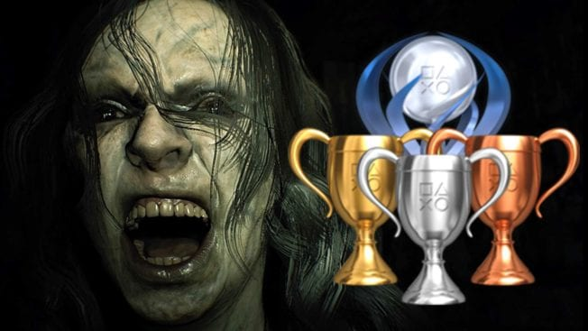 Resident Evil 7 - Trophäen