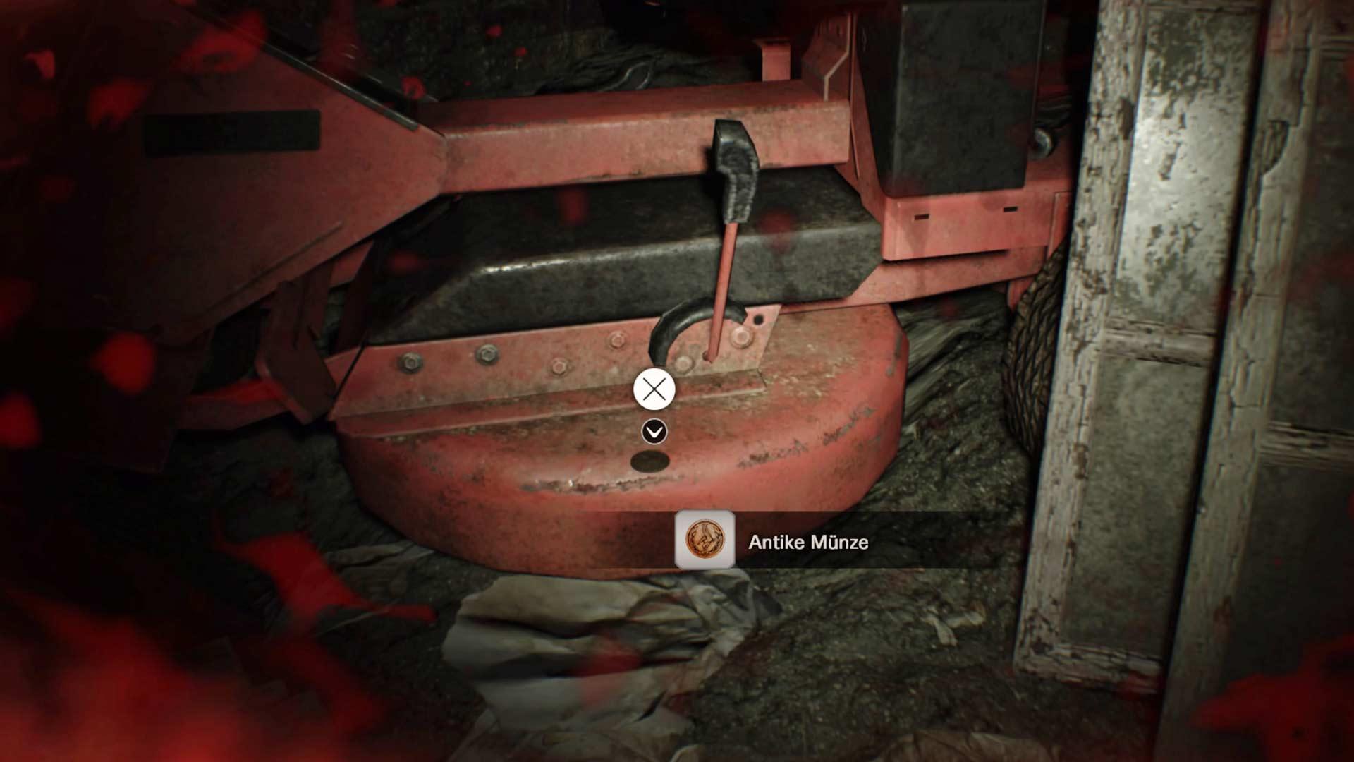 Resident Evil 7 - Münze Rasenmäher