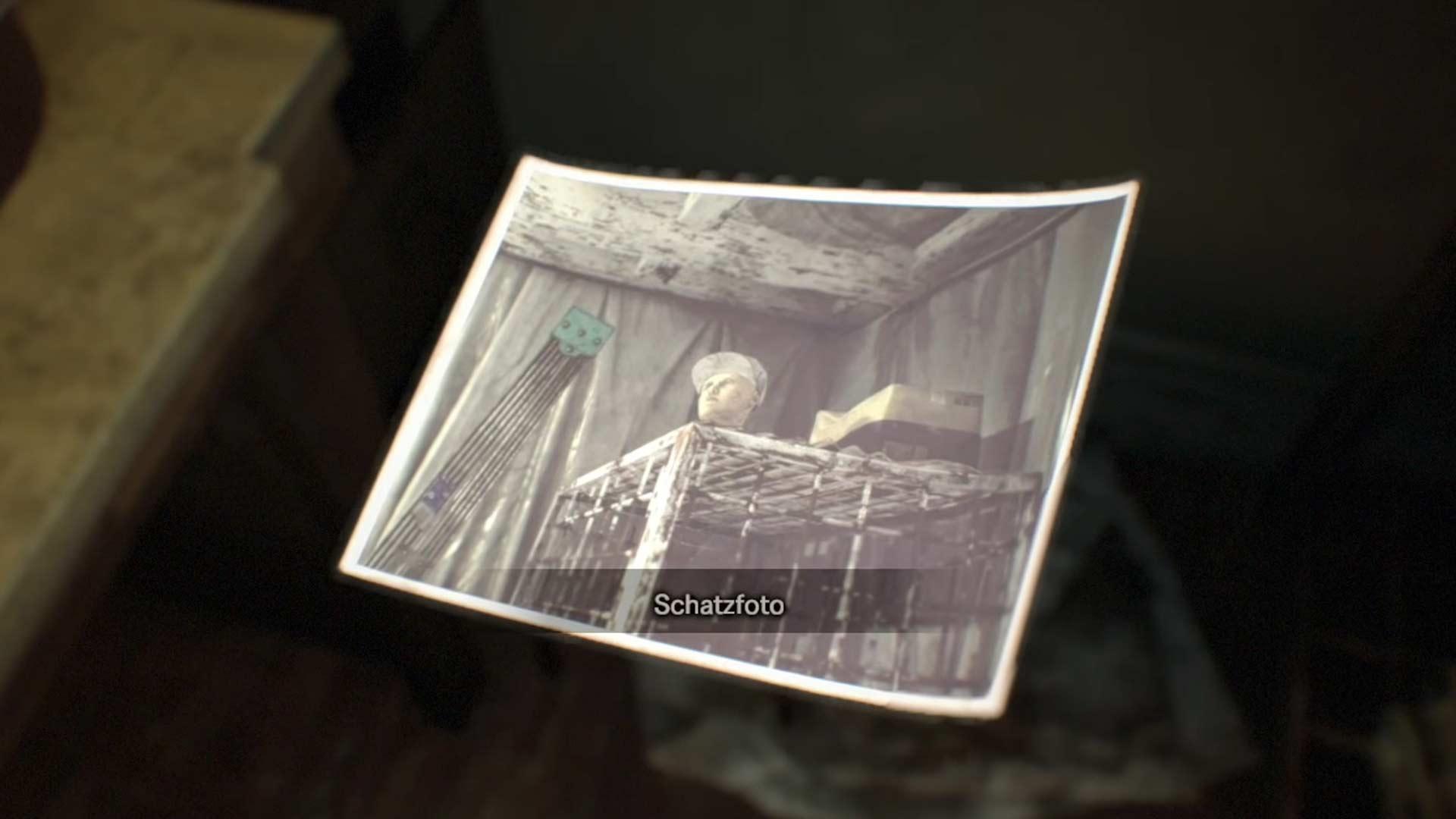 3. Schatzfoto in Resident Evil 7