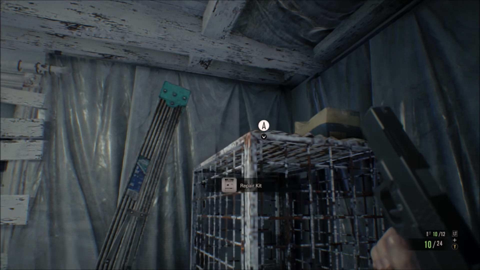 Resident Evil 7 - Schatzfoto Käfig