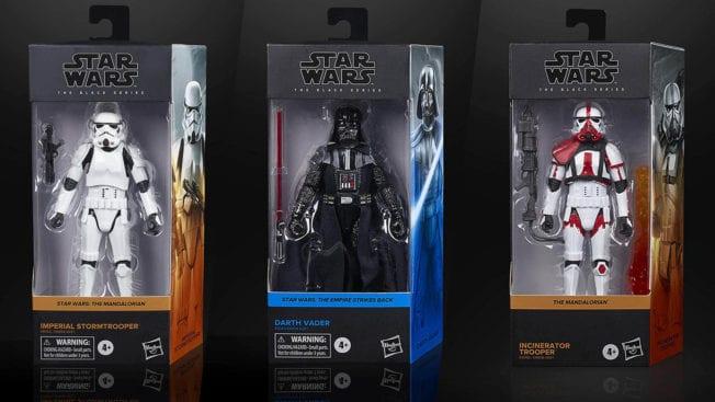 Star Wars - The Black Series - Restock 5 Figuren