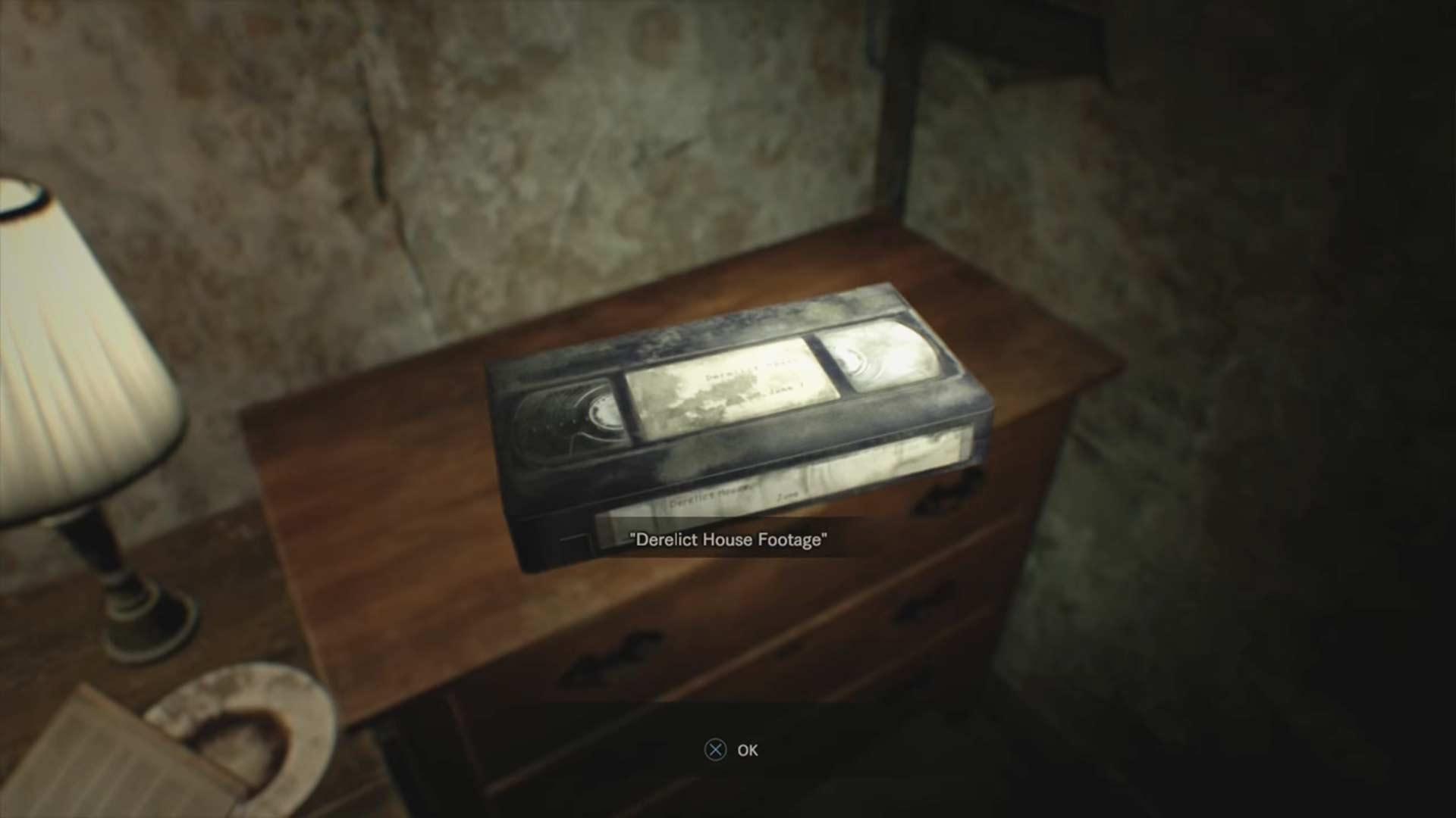 Fundort Videokassette 1 - Resident Evil 7