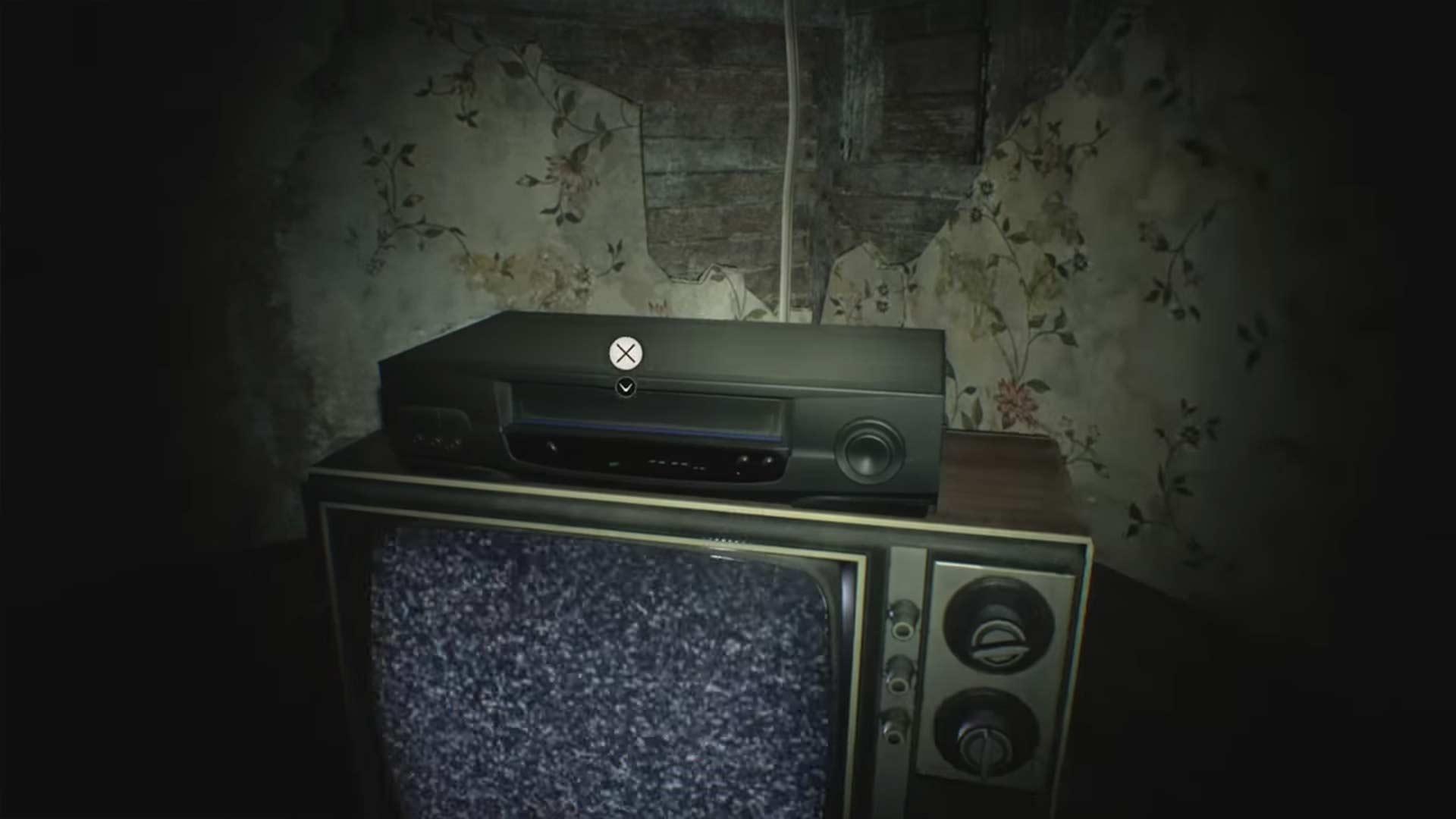 Videokassette - Resident Evil 7