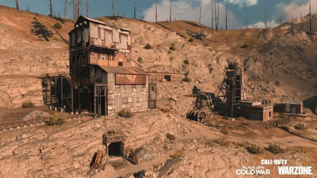 Old Mine in CoD Warzone Verdansk '84