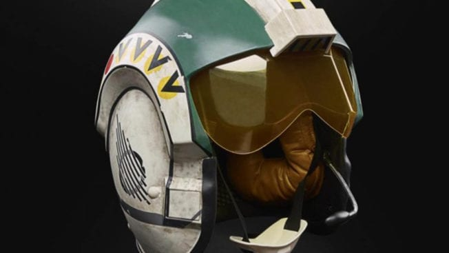 Wedge Antilles Helm - The Black Series