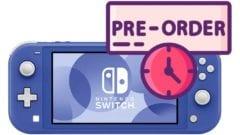 Nintendo Switch Lite Blau Vorbestellen Preorder