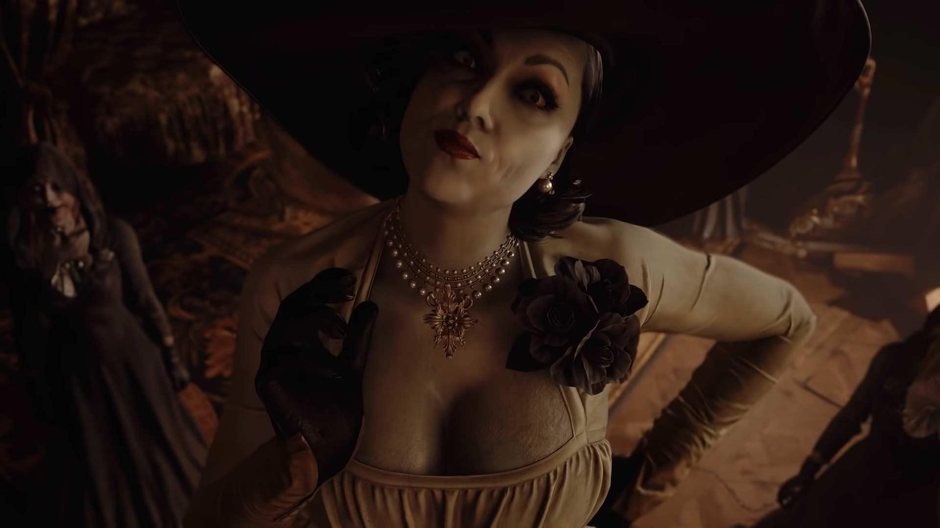 Resident Evil 8 Village - Lady Dimitrescu
