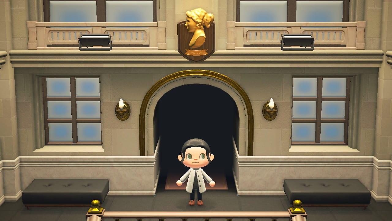 Animal Crossing Kunstaustellung Wandschmuck