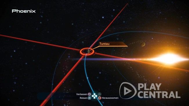 Sucht im Phoenix-System nach der Rüstung von Wrex