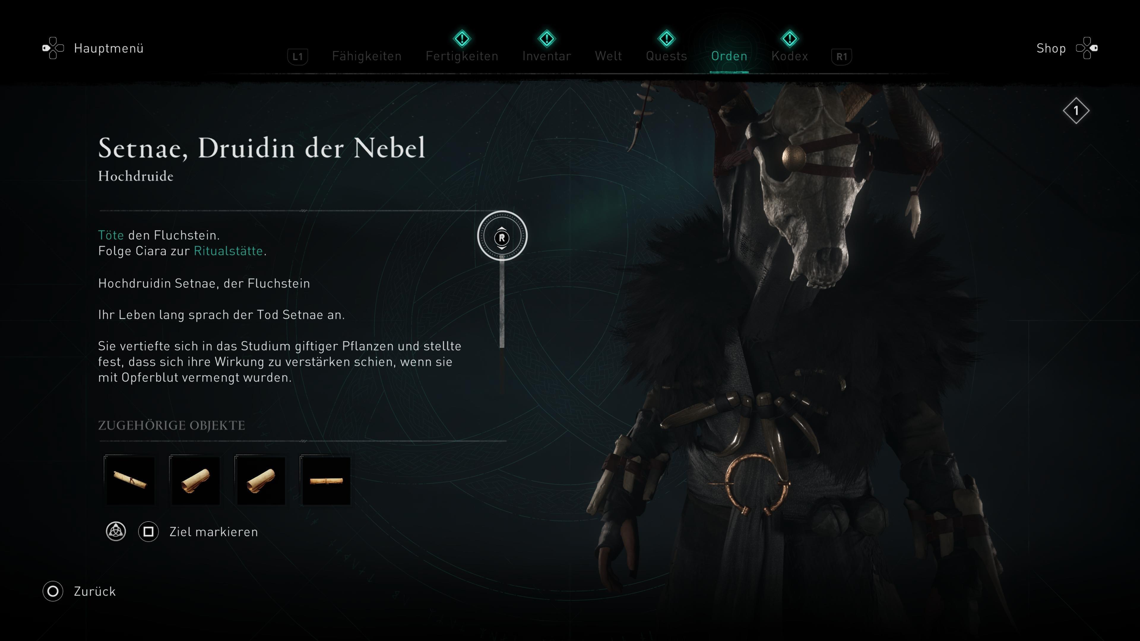Assassin's Creed Valhalla Fluchstein Fundort