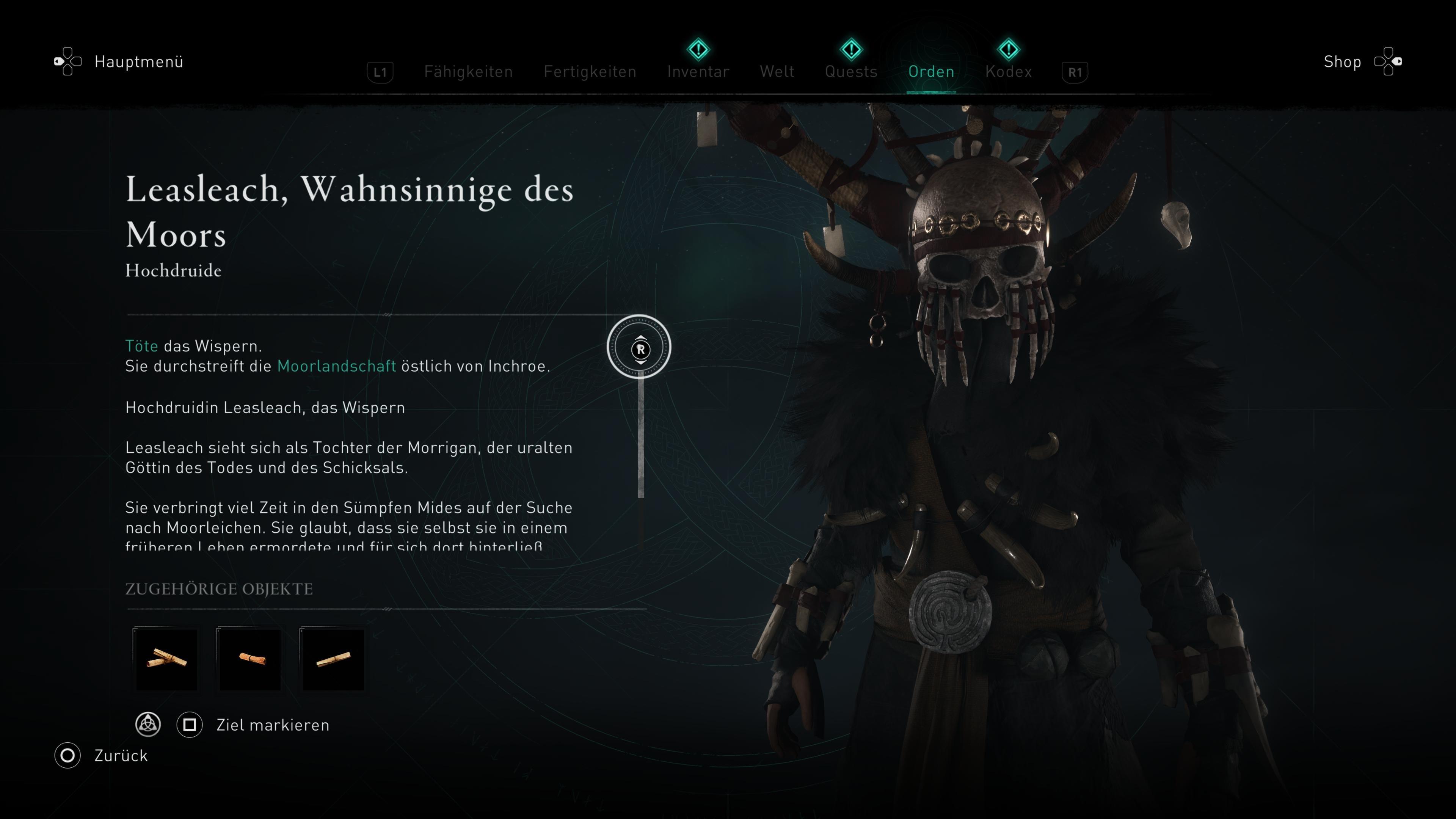 Assassin's Creed Valhalla Wispern
