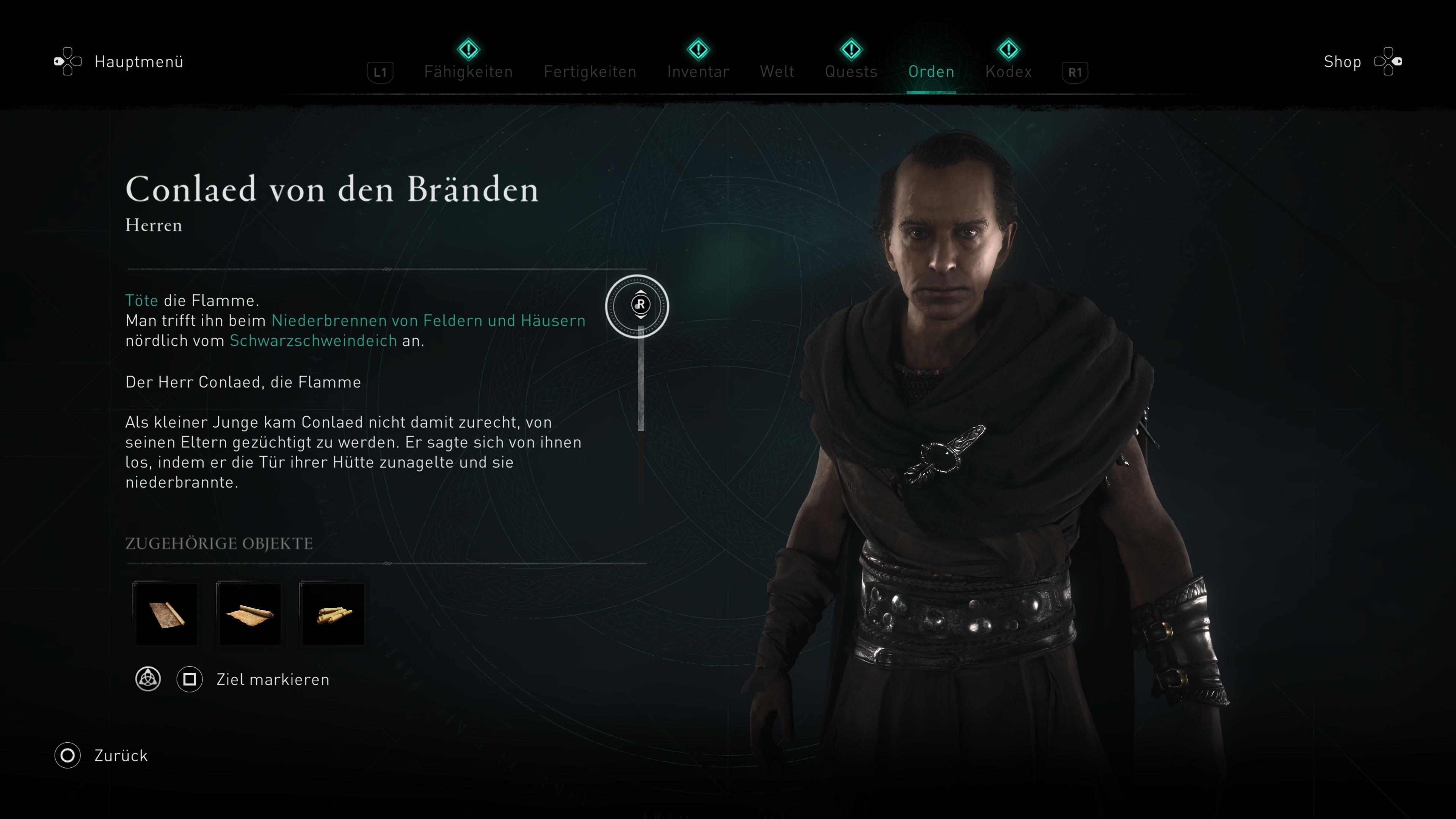 Assassin's Creed Valhalla Flamme