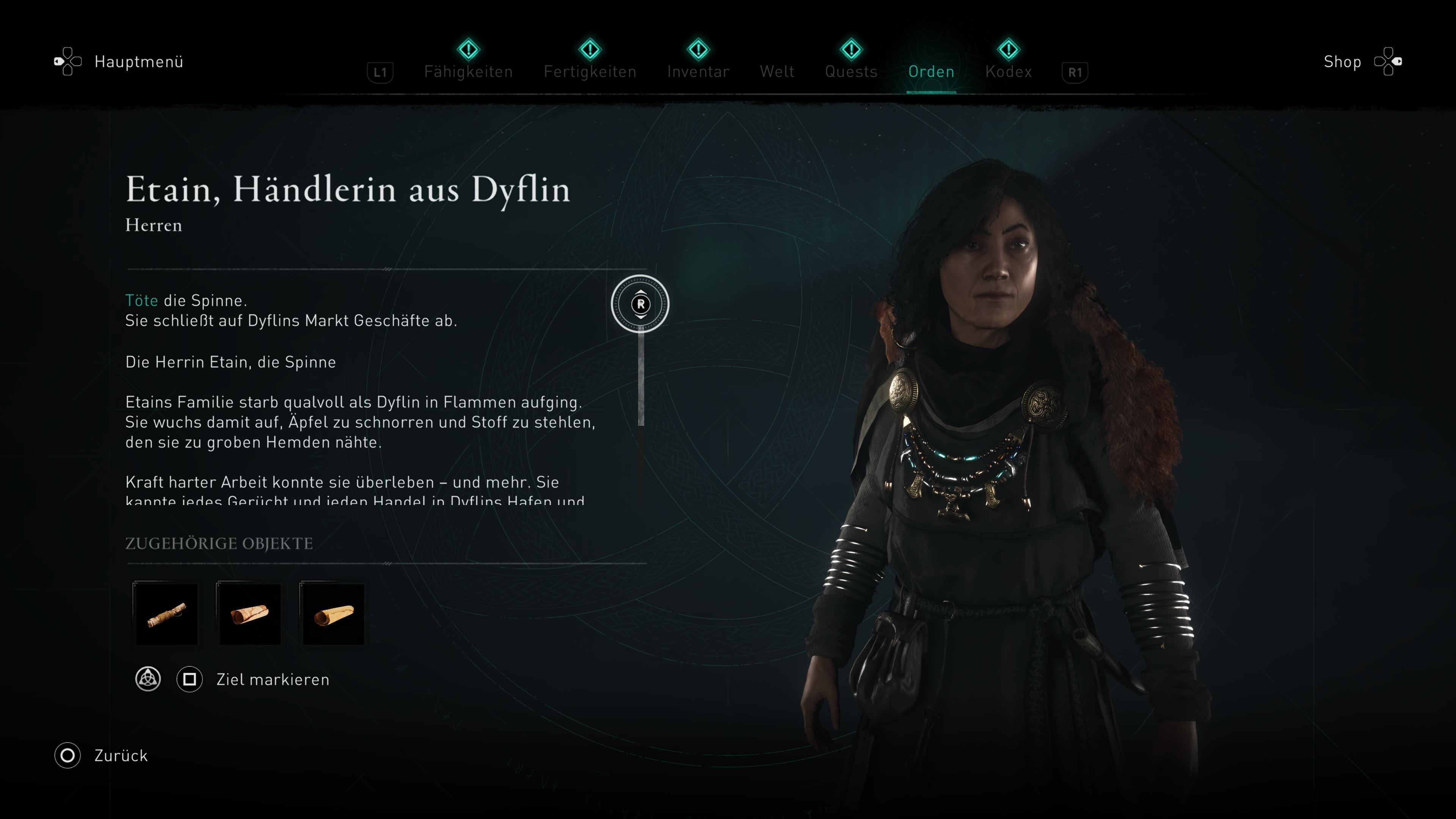 Assassin's Creed Valhalla Spinne