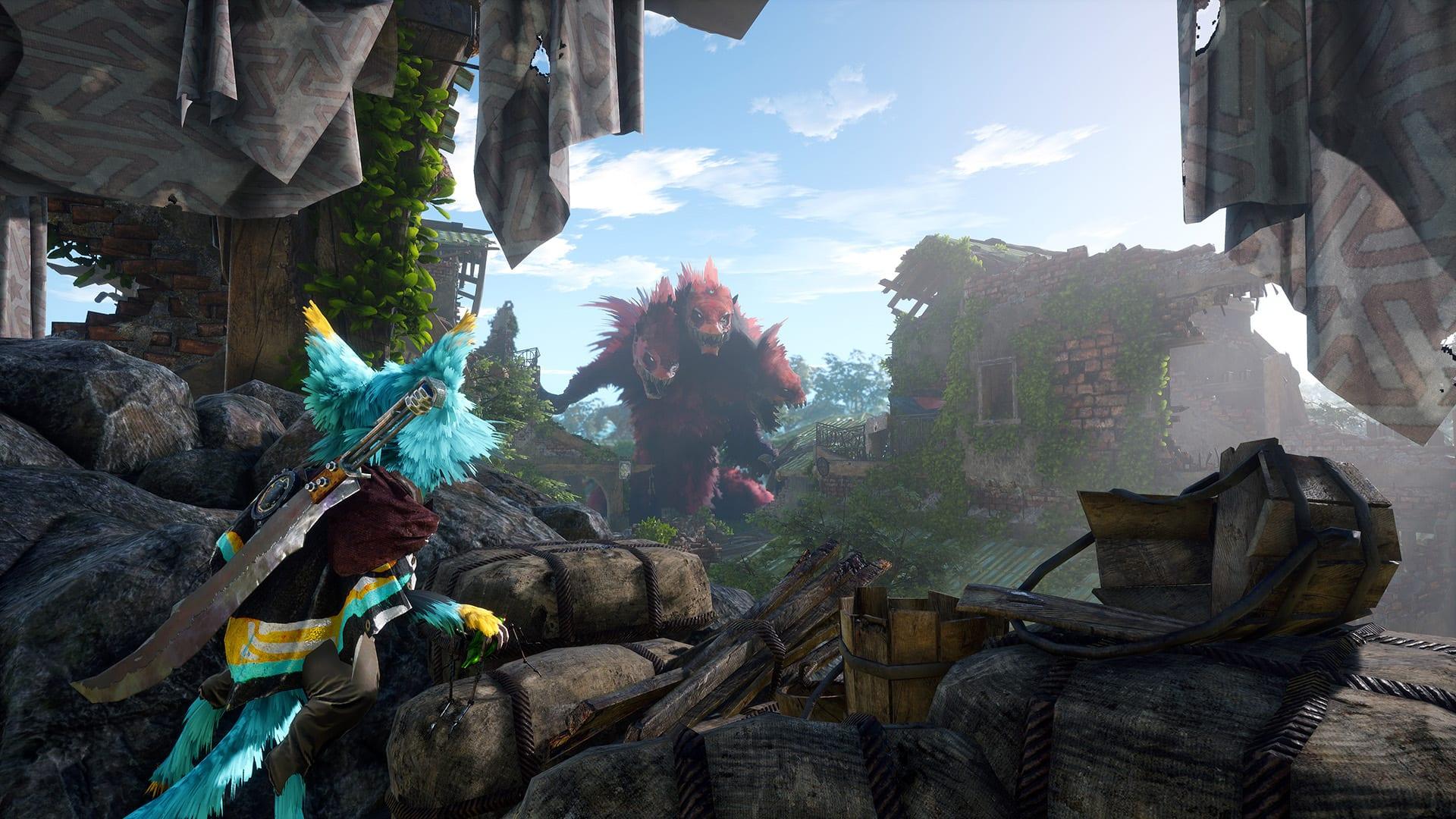 Biomutant Spielwelt Monster