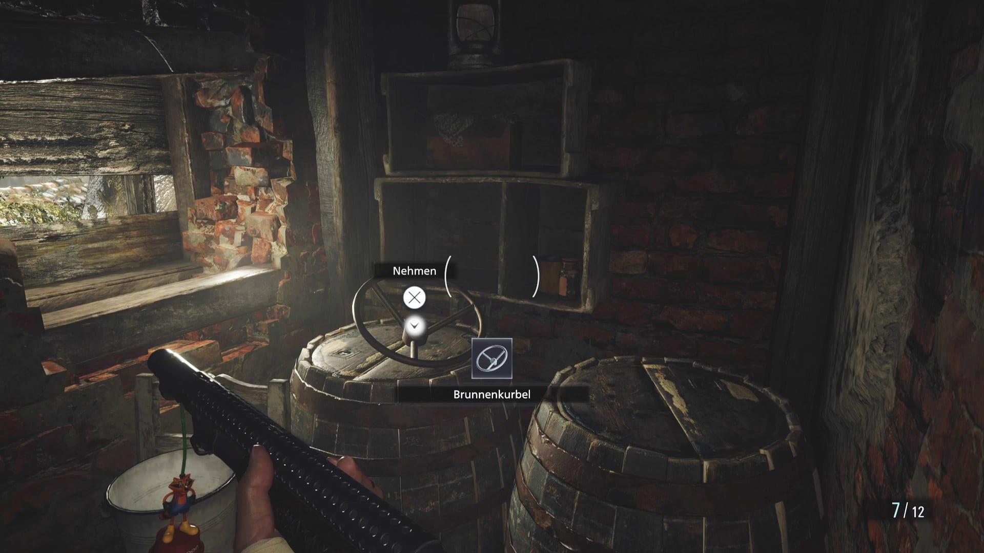 Fundort Brunnenkurbel in Resident Evil 8