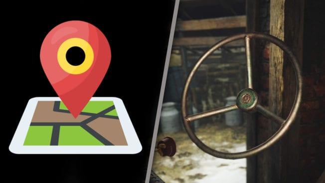 Brunnenkurbel in Resident Evil 8 finden