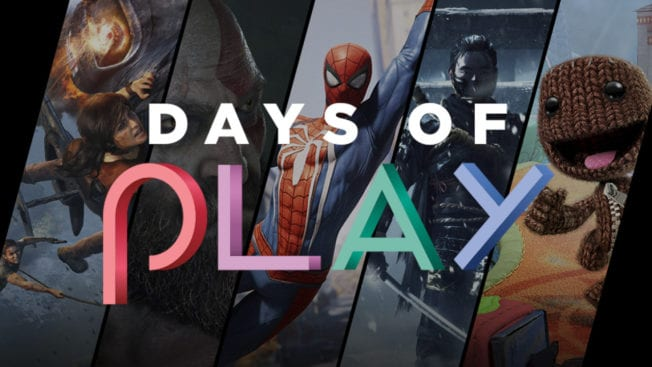 Sony Days of Play PS4 PS5 PlayStation Player Celebration
