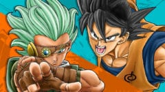 Dragon Ball Super Manga Granolah rechtes Auge