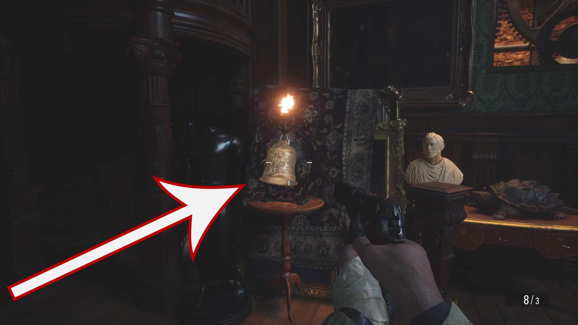Resident Evil 8 - Glocke 1