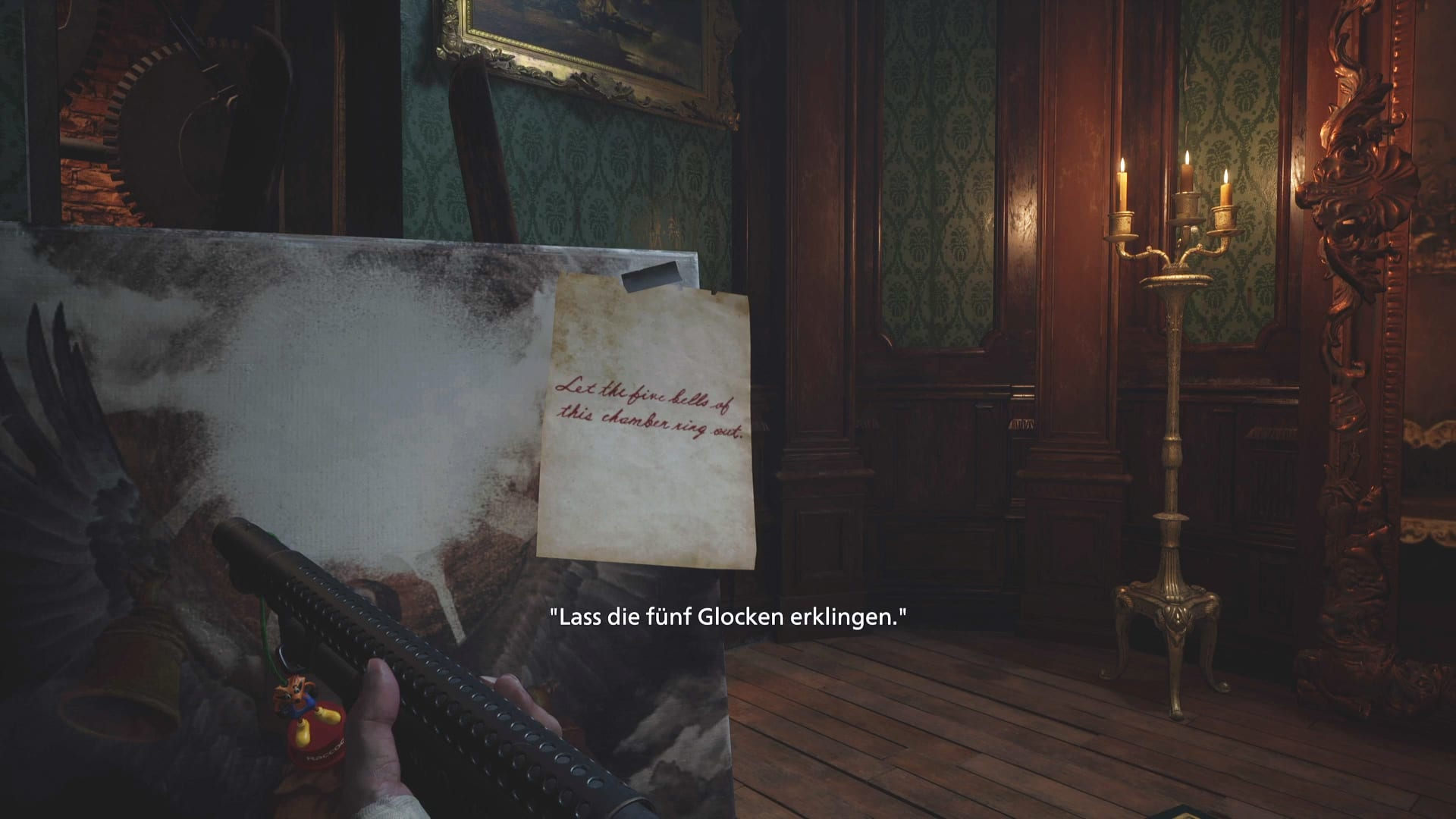 Glocken-Rätsel in Resident Evil 8
