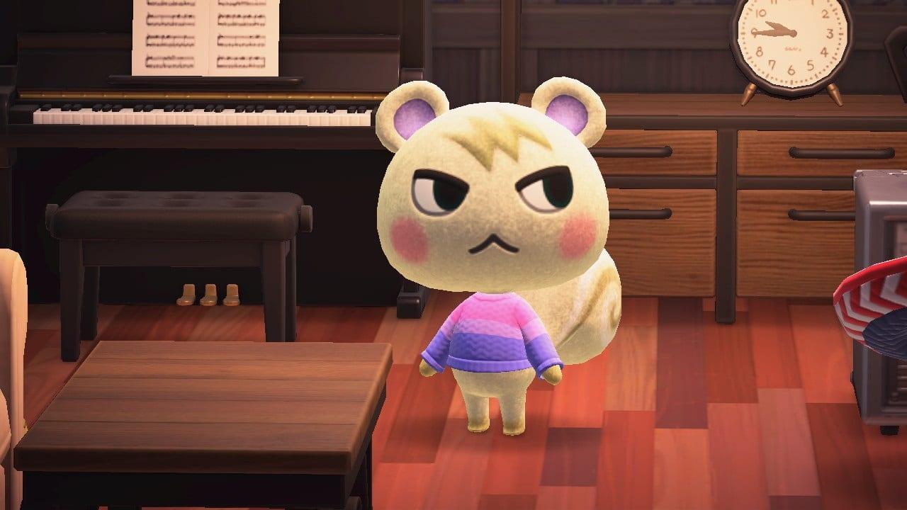Huschke in Animal Crossing New Horizons