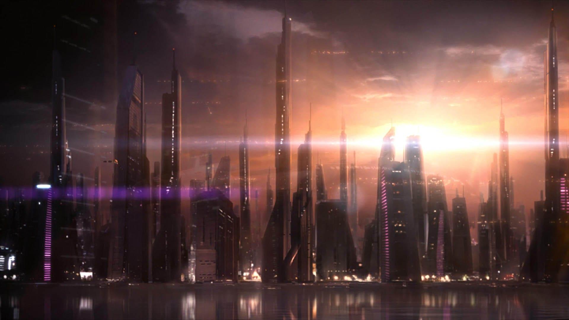 Illium in Mass Effect 2