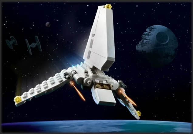 Imperiales Lambda-Shuttle LEGO STar Wars