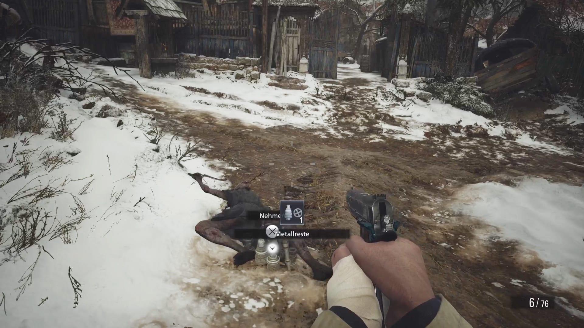 Gegner lassen Items fallen - Resident Evil 8