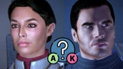 Kaidan Alenko oder Ashley Williams retten in Mass Effect