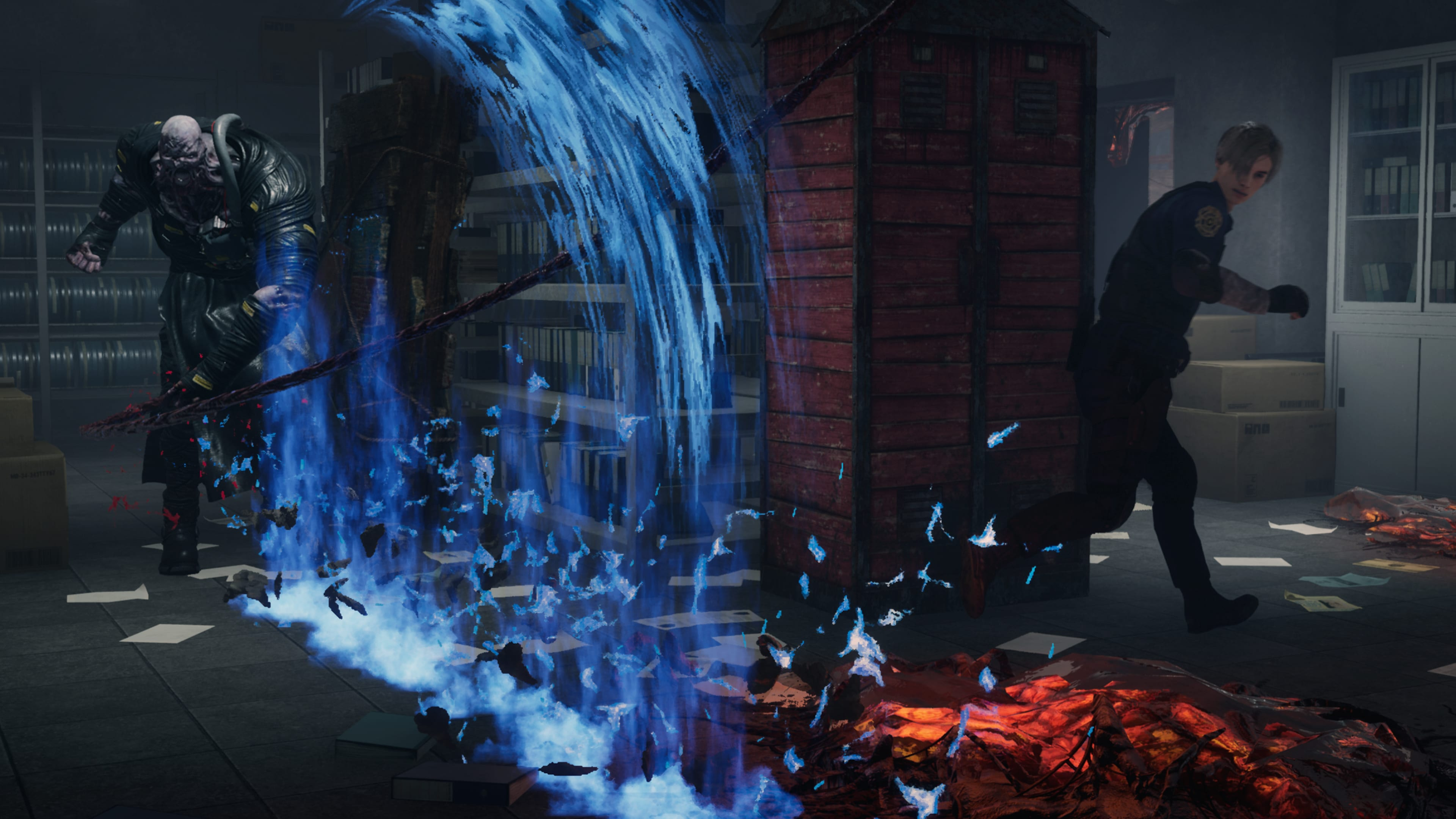 DbD Resident Evil Nemesis Angriff