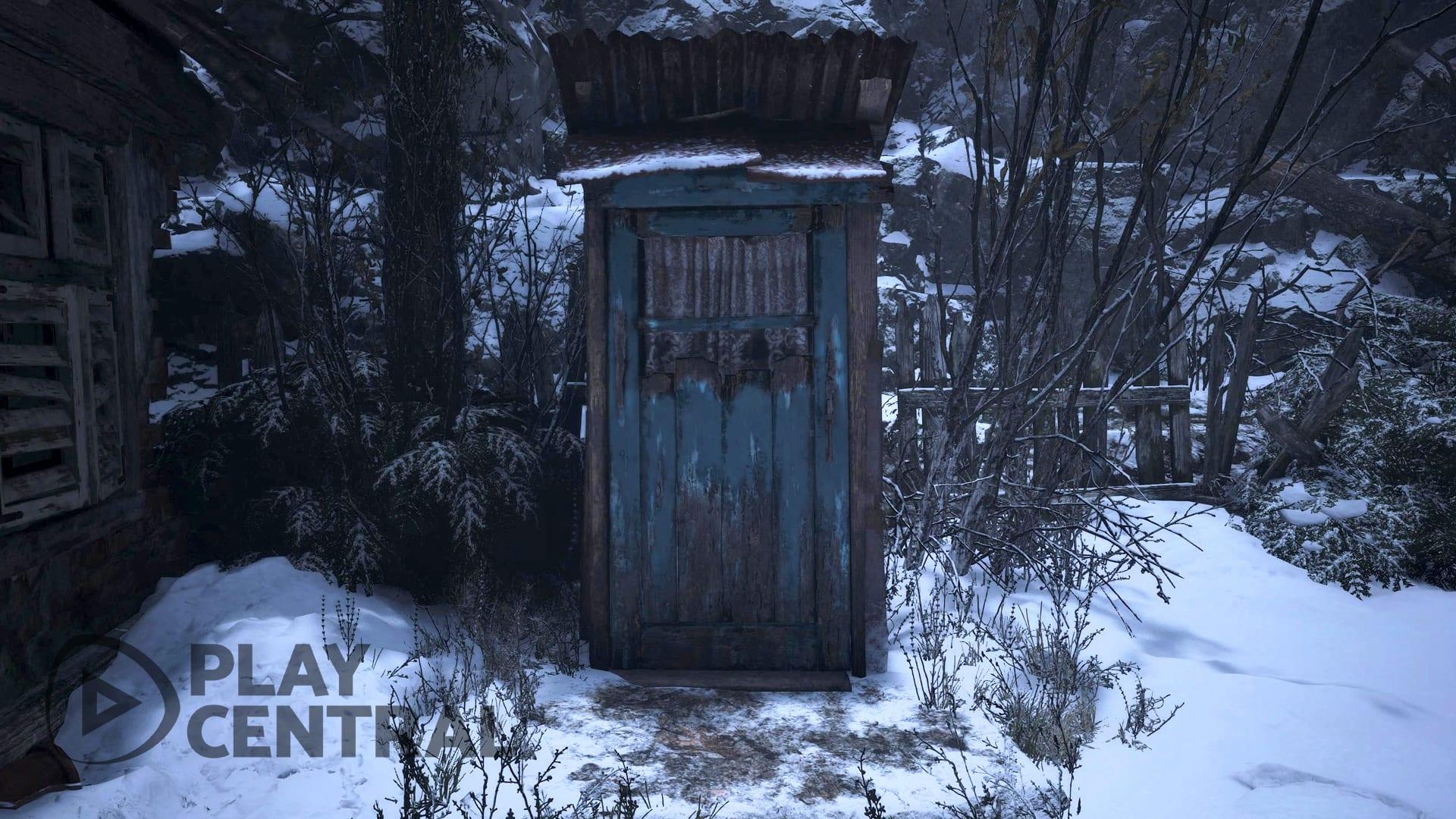Resident Evil 8 Village Außenklotür