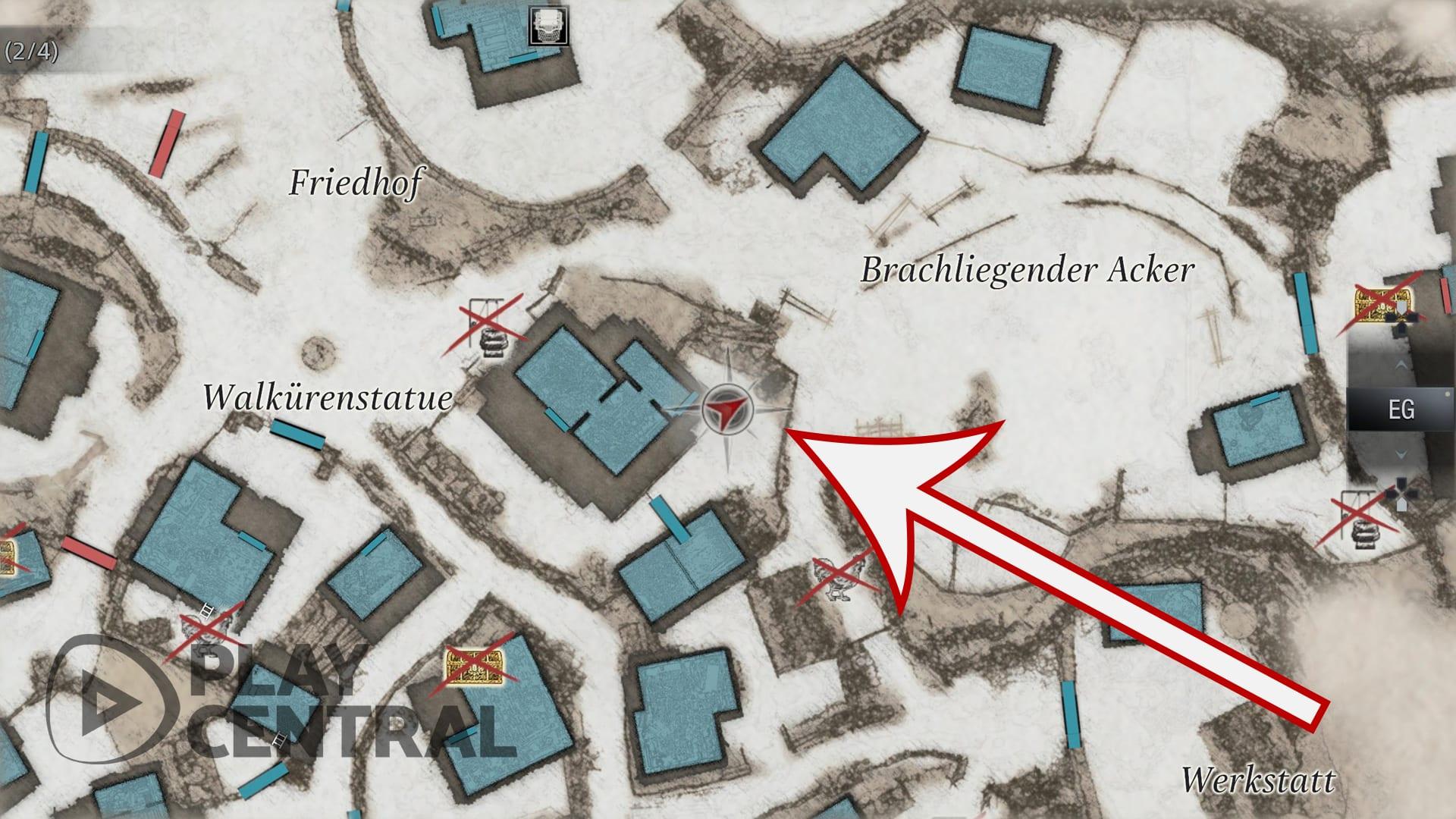 Resident Evil 8 Village Toilette Fundort