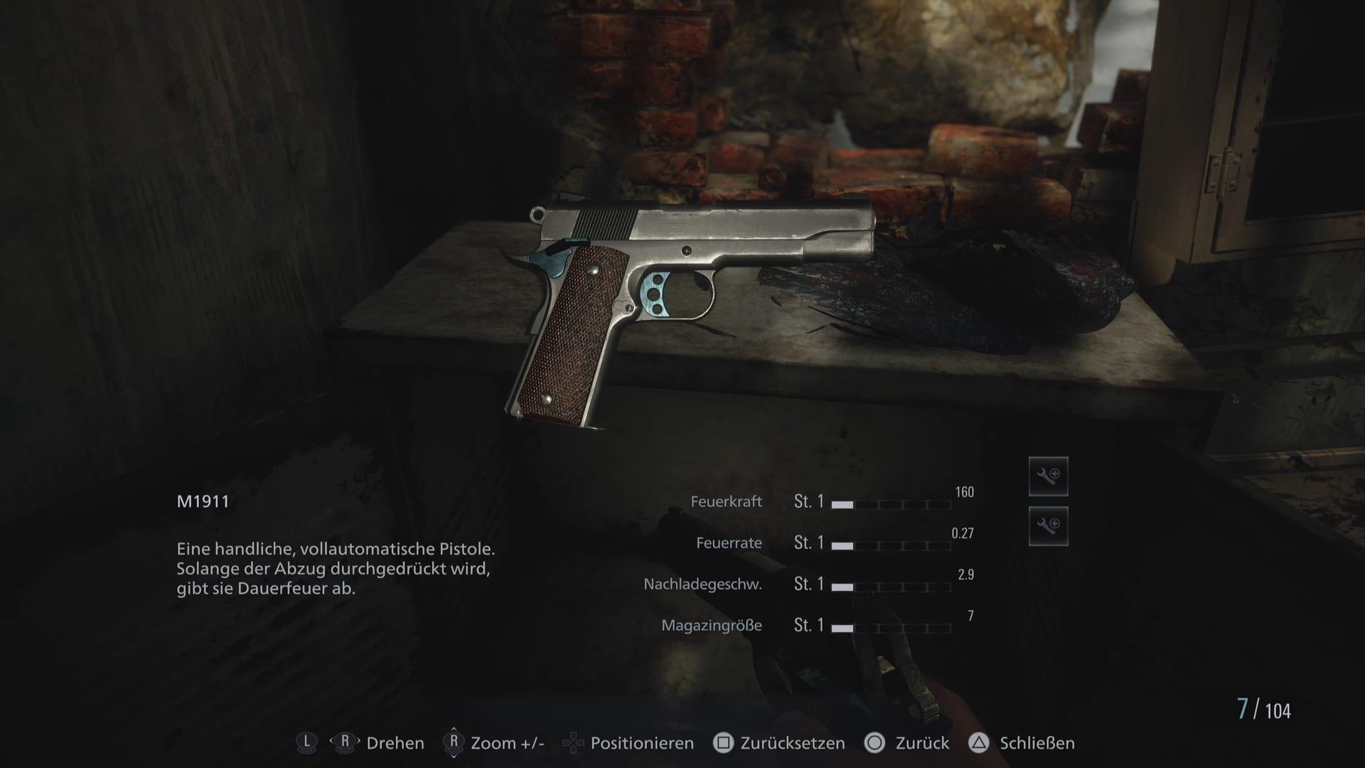 M1911 - Resident Evil 8