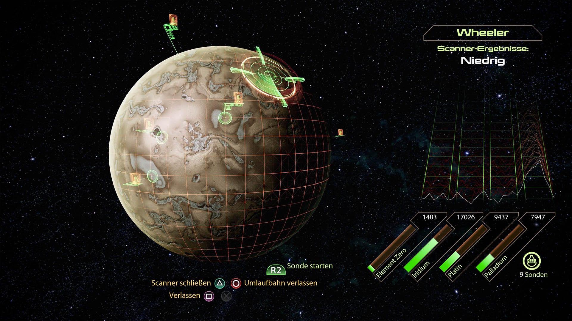 Mass Effect 2 - Lösung - letzte Mission -Ressource farmen