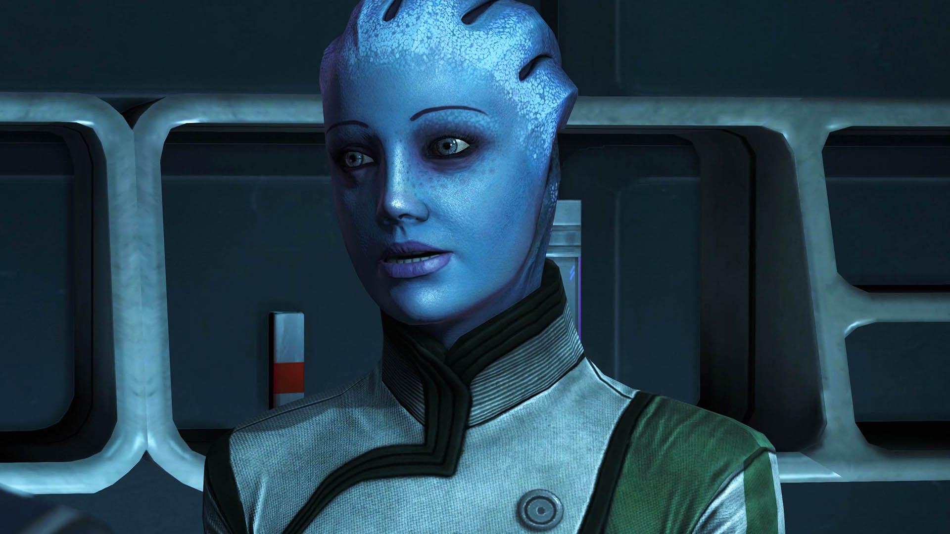 Mass Effect - Liara Romanze