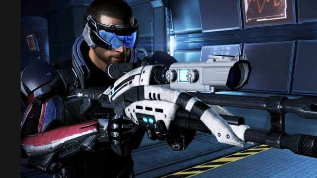 Mass Effect Sniper Upgrade