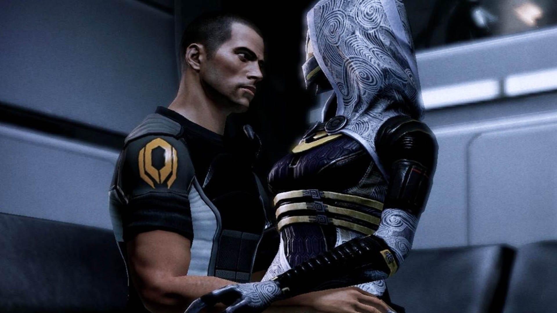 Mass Effect - Tali und Shepard - Romanze